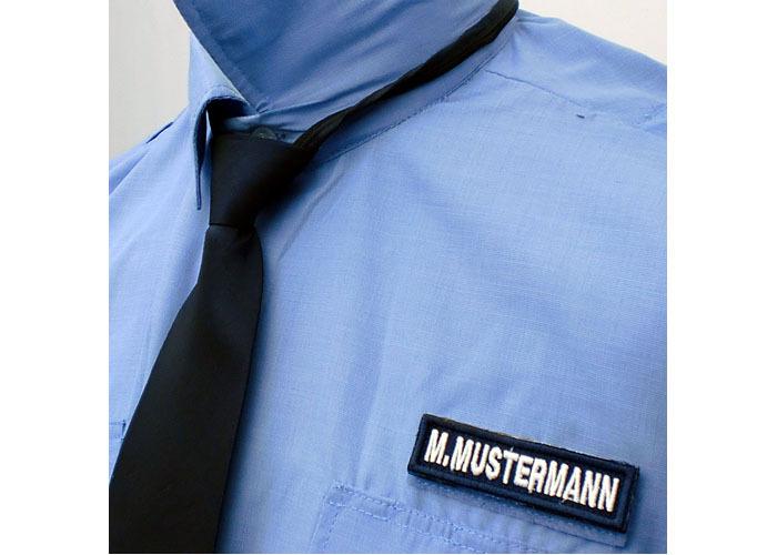 6fae47a25be1 Sicherheitskrawatte dunkelblau oder schwarz - Polas24 - Polizeiausrüstung  und Sicherheitsbedarf