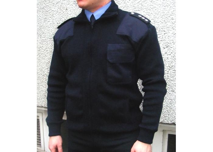 0492e9639534 Polizei-Strickjacke, blau - Polas24 - Polizeiausrüstung und ...