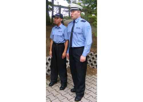 6817ab9b0044 Diensthemd POLAS hellblau (KURZARM) - Polas24 - Polizeiausrüstung ...