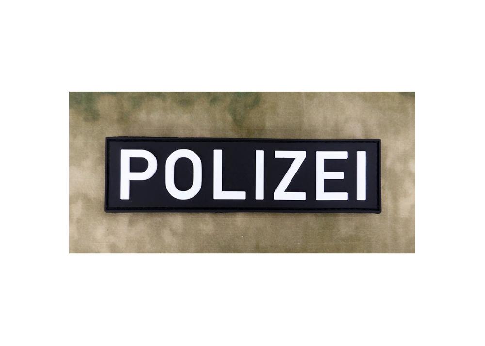 jtg  polizei schriftzug  patch swat  polas24