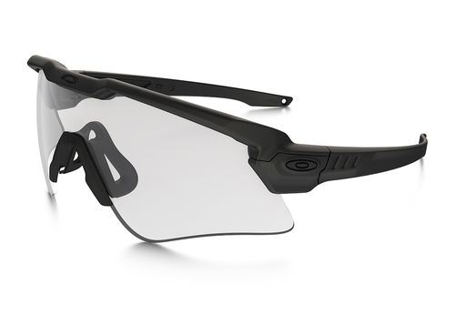 OAKLEY SI Ballistic M-Frame ALPHA Array Matte Black / Grey,Clear (OO9296-05)