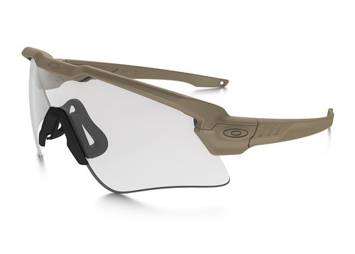 OAKLEY SI Ballistic M-Frame ALPHA Array Terrain Tan / Grey,Clear (OO9296-07)