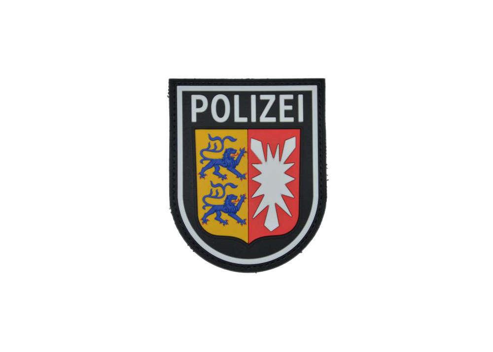 Rubberpatch Polizei Schleswig Holstein Polas24