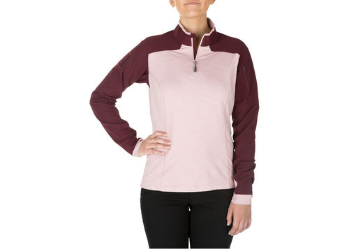 5.11 RAPID HALF ZIP WOMAN (62381)