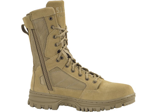 "5.11 EVO BOOTS 8"" DESERT W. SIDE ZIP (12347)"