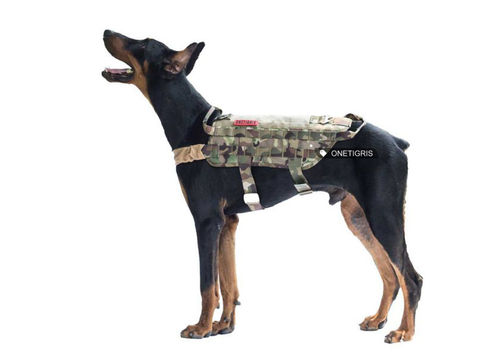 OneTigris Military Tactical Molle Dog Harness 526