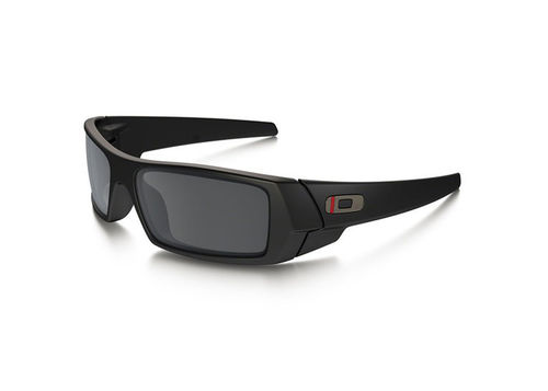 Oakley SI GASCAN THIN RED LINE SATIN BLACK / BLACK IRIDIUM (OO9014-2060)