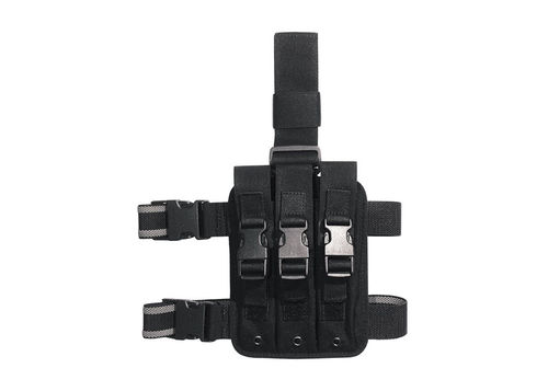 Vega Oberschenkelplattform Triple MP5 Magazin Holster
