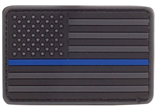 Condor RUBBER PATCH US FLAGGE THIN BLUE LINE