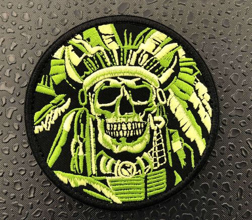 OneTigris Indian Skull Patch