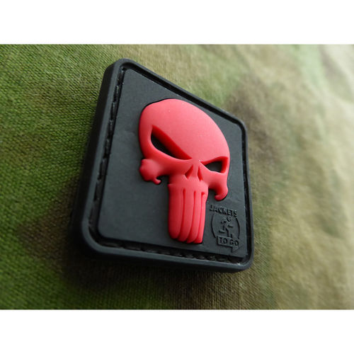 JTG - Punisher Patch, blackmedic / 3D Rubber patch