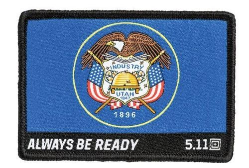 5.11 Utah Flag Rubber Patch