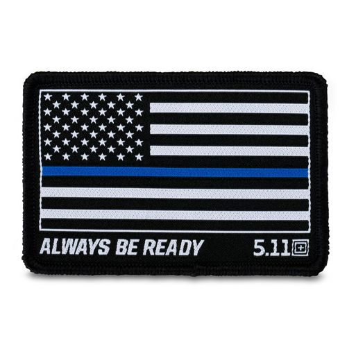 5.11 Thin Blue Line Patch (81298)