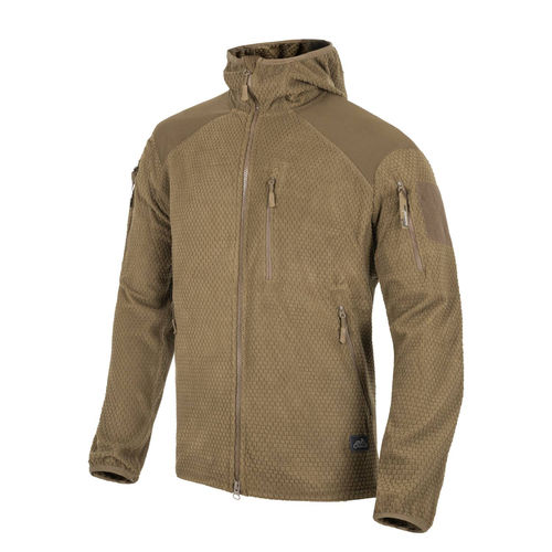 Helikon-Tex ALPHA HOODIE Jacket - Grid Fleece