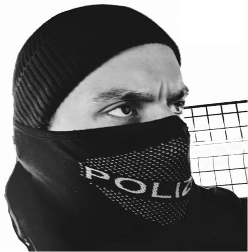 "Polas Tactical Face Shield ""POLIZEI"""