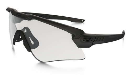 OAKLEY SI Ballistic M-Frame ALPHA Array Matte Black/Grey, Clear EN (OO9296-2544)