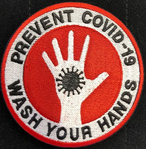 Polas Patch Wash your Hands