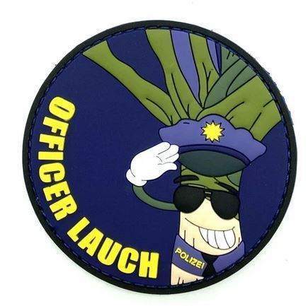 Officer Lauch Rubberpatch