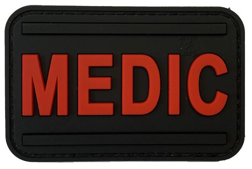 JTG Medic Rubber Patch (rot)