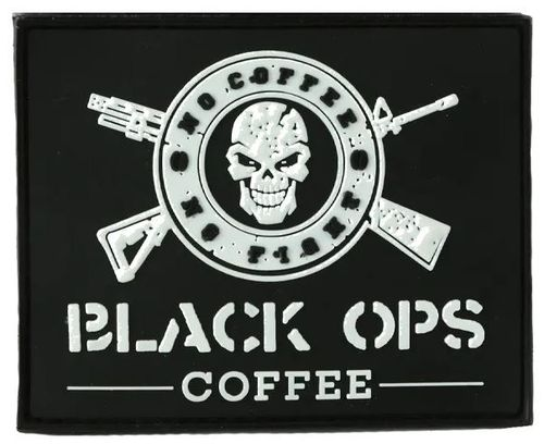 BLACK OPS COFFEE Patch Black-OPS-Coffee
