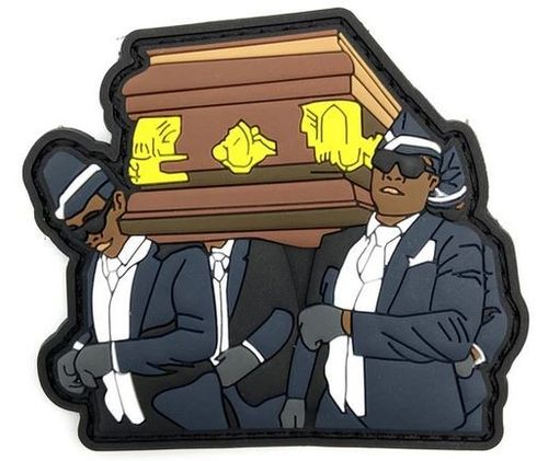 Coffin Dance Rubber Patch